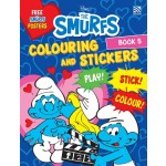 THE SMURFS:COLOURING&STICKERS BK 5