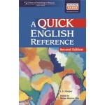 A QUICK ENGLISH REFERENCE