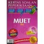 Kertas Soalan Peperiksaan Tahun-Tahun Lepas MUET (2018 Session 1,2&3).
