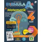 TINGKATAN 4 MODUL AKTIVITI FORMULA A+  KSSM MATEMATIK(BILINGUAL)