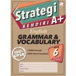 Tahun 6 Strategi Kendiri A+ English Grammar & Vocabulary