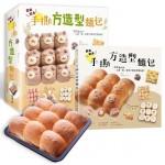 鬆軟餡多!手撕方造型麵包(隨書超值附贈:22公分方形不沾烤模)