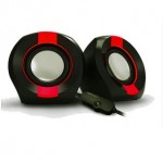 VINNFIER ICON 202 2.0 USB SPEAKER BLACK RED