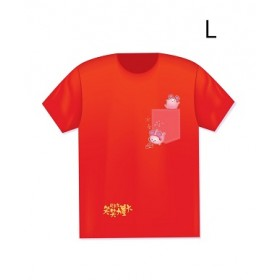 笑笑力量大精美T-恤 T-shirt (L)