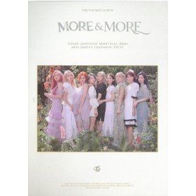 TWICE - 9TH MINI ALBUM: MORE & MORE (B Version)