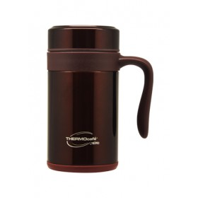 THERMOCAFE INSULATED STAINLESS STEEL MUG 500ML BROWN