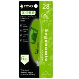 TOYO X-PRO CORRECTION TAPE 6MMX6M CT664