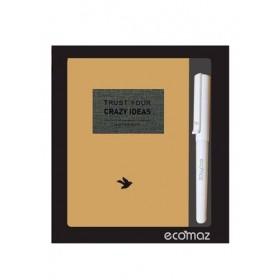 ECOMAZ Notebook A5 + Fountain Pen Set