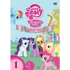 My Little Pony Season 2 Volume 1 DVD
