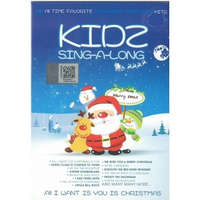 KIDS SING A LONG-ALL I WANT IS YOU IS CHRISTMAS (3CD)