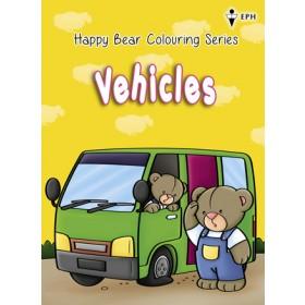 Happy Bear Colouring Series - Vehicles