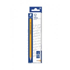 Staedtler Yellow Pencil in Dozen Box (12 Pieces) - HB