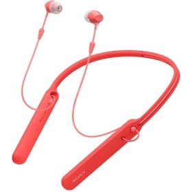 SONY WI-C400 BLUETOOTH NECKBAND EARPHONE RED