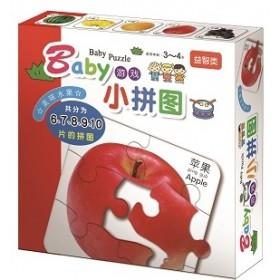 Baby游戏小拼图: 美味水果