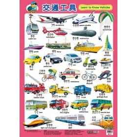 挂图:交通工具