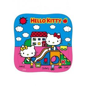 Hello Kitty 42片拼图:玩溜滑梯