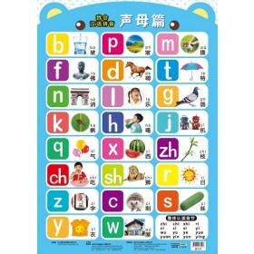 我会汉语拼音挂图:声母篇
