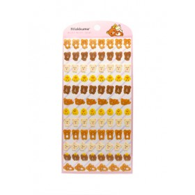 RILAKKUMA STICKER 95* 195MM SE48401