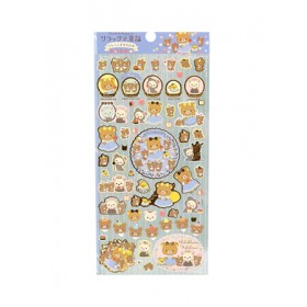 RILAKKUMA STICKER 95*195MM SE48501
