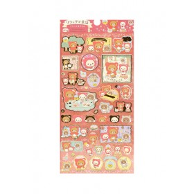 RILAKKUMA STICKER 95*195MM  SE48502