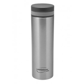 THERMOCAFE LIGHTWEIGHT VACUUM STAINLESS STEEL FLASK 480ML SILVER