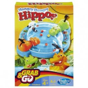 HASBRO HUNGRY HUNGRY HIPPO GRAB AND GO