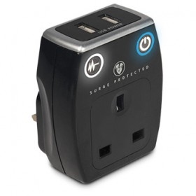 MASTERPLUG USB CHARGER 2 USB 3.1 WITH SURGE PROTECTION (SRGAUSBPB3-MPA)