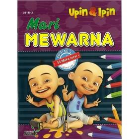 MARI MEWARNA UPIN & IPIN 1B: BUKU 2