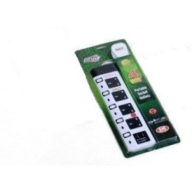 PROSTAR 4 WAY EXTENSION 2 USB PORT (3METER)