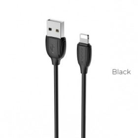 BOROFONE BX19 BENEFIT LIGHTNING CABLE BLACK