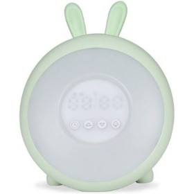 ALARM CLOCK WITH LAMP GREEN LJC-128