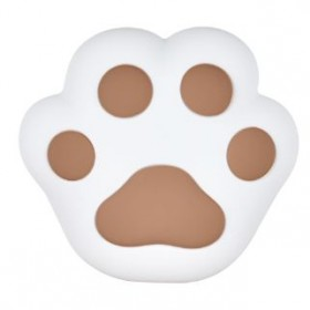 SILICONE CAT PAW LED LAMP BROWN LJC-134