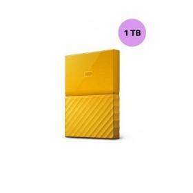 WESTERN DIGITAL HARD DISK 1TB MY PASSPORTYELLOW