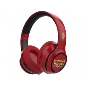 A&S WONDER WOMAN BLUETOOTH HEADPHONE RED