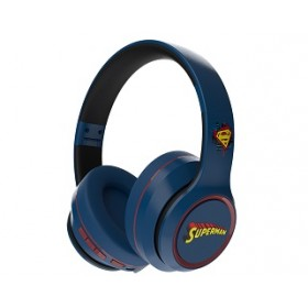 A&S SUPERMAN BLUETOOTH HEADPHONE BLUE