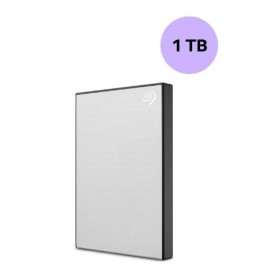 SEAGATE HARDISK 1TB BACK UP PLUS SLIM SILVER