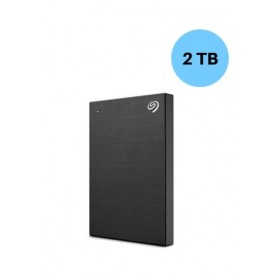 SEAGATE HARDISK 2TB BACK UP PLUS SLIM BLACK
