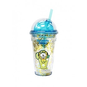 BT21 GLITTER COLD CUP 473ML (CHIMMY)