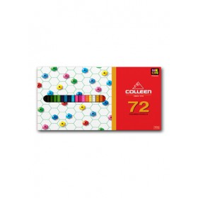COLLEEN 775 COLOURED PENCILS - 72 COLOURS, NEON INCLUDED