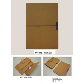 ECOMAZ Journal Craft A5 Plain 80 sheets 100g paper