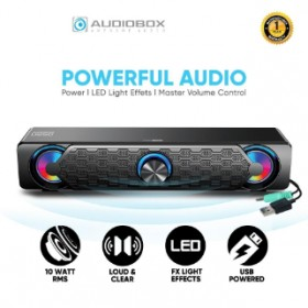 AUDIOBOX AUDIOBAR U250 PORTABLE USB SOUNDBAR