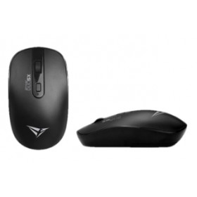 ALCATROZ AIRMOUSE DUO 5X DUAL MODE WIRELESS & BLUETOOTH SILENT MOUSE BLACK