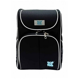 POP KIDS SCHOOL BAG - SCHOOLMATE BLACK