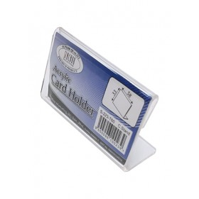 ACRYLIC NAME CARD STAND L-SHAPE 60X18X35mm S223-T60