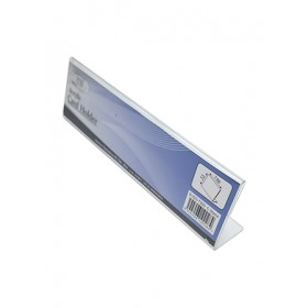 ACRYLIC NAME CARD STAND L-SHAPE 200X30X55mm S223-T200