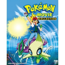 POKEMON MOVIE COLLECTION   (5DVD)