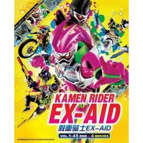 KAMEN RIDER EX-AID V1-45END+4MOVIE(6DVD)