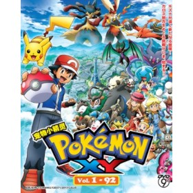 POKEMON : XY   宠物小精灵 XY  VOL. 1 - 92   (8DVD)