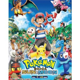 POKEMON SUN & MOON V1-43END (4DVD)