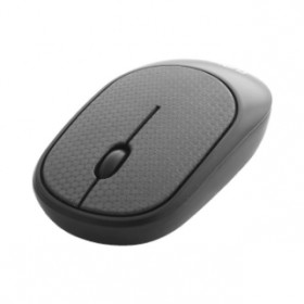 CLIPTEC RZS855L (LEATHER) WIRELESS SILENT MOUSE GREY